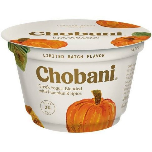 Chobani Pumpkin Greek Yogurt - 5.3oz - image 1 of 1