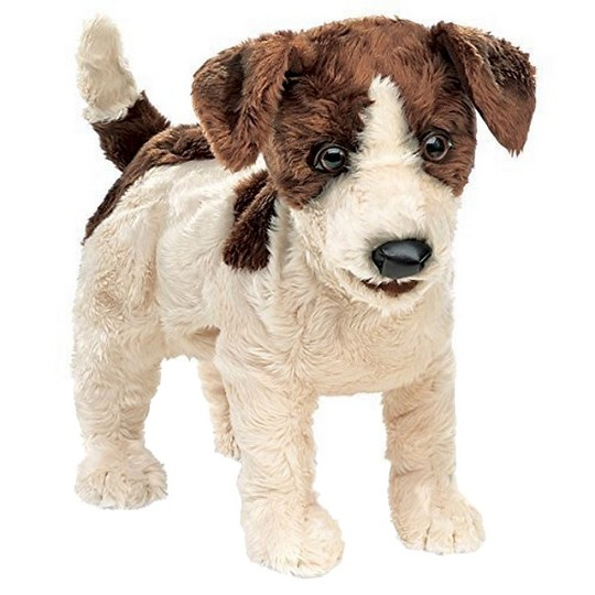 Folkmanis Jack Russell Terrier (Smooth Coat) Hand Puppet image number null