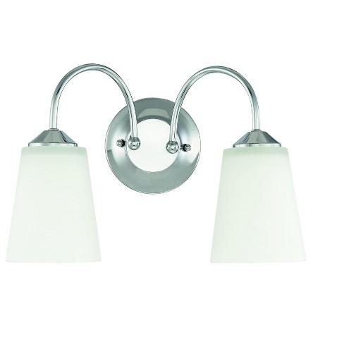 "Park Harbor PHFVL1032 Bay Creek 2 Light 15"" Wide Bathroom Vanity Light - image 1 of 1"