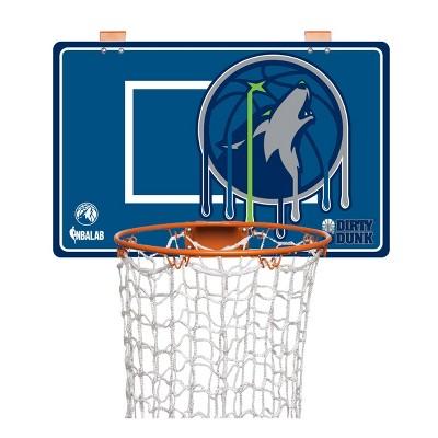 NBA Minnesota Timberwolves Dirty Dunk Hamper Hoop