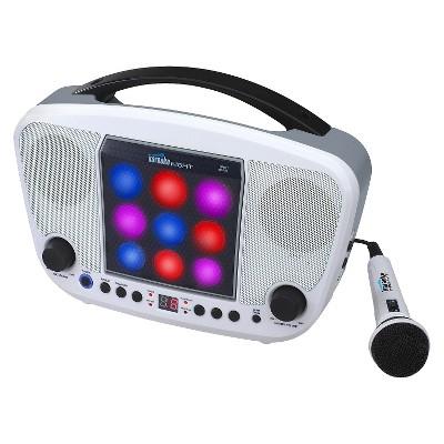 CD+G Karaoke Machine with LED Light Show (KN104)