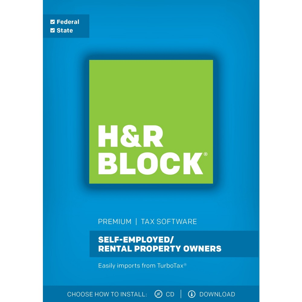 H&r Block Premium 2017 Tax Software
