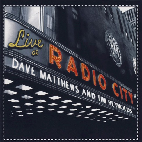 Dave Matthews/Tim Reynolds - Live at Radio City Music Hall (CD) - image 1 of 1