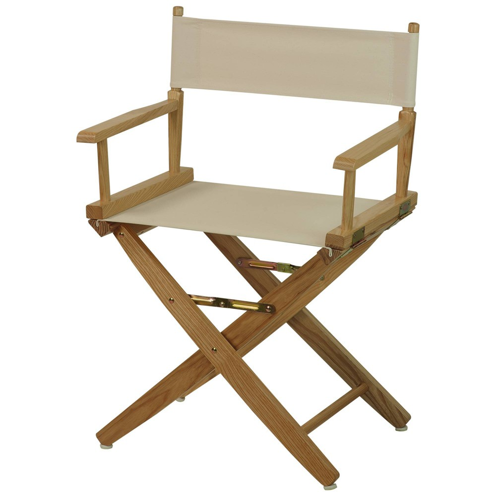 """Image of """"18"""""""" Extra Wide Directors Chair Natural Frame - Flora Home"""""""