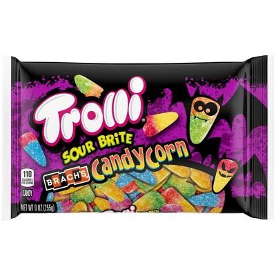 Trolli Sour Brite Halloween Candy Corn - 9oz
