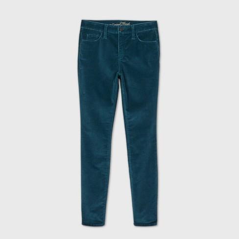 Women's High-Rise Velvet Skinny Jeans - Universal Thread™ - image 1 of 3