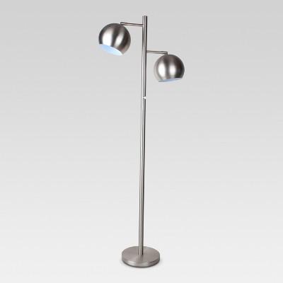 Modern Globe Multi-Head Downbridge Floor Lamp - Project 62™