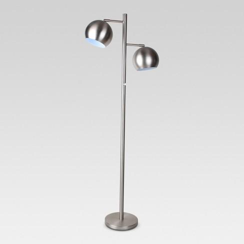 Modern Multi Head Globe Downbridge Floor Lamp Target