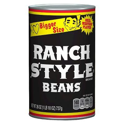 Ranch Style Pinto Beans - 26oz