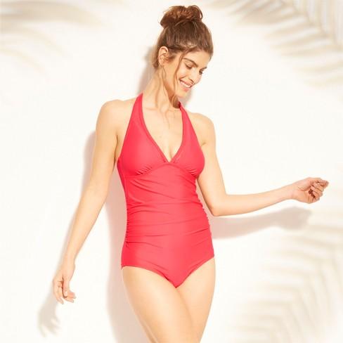 65c2049da22 Women's Shirred Scallop Mesh One Piece Swimsuit - Kona Sol™. Shop all Kona  Sol