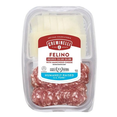 Creminelli Sliced Felino & Manchego - 2.2oz