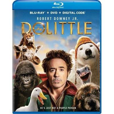 Dolittle (Blu-ray + DVD + Digital)