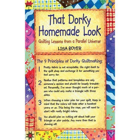 That Dorky Homemade Look - by  Lisa Boyer (Paperback) - image 1 of 1
