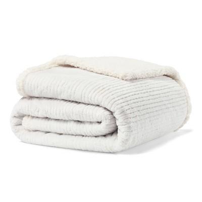 Fillmore Solid Throw Blanket Gray - Eddie Bauer