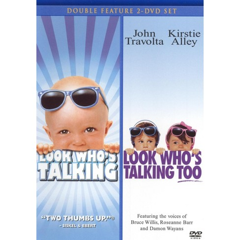 Look Who's Talking/Look Who's Talking Too (2 Discs) (DVD) - image 1 of 1