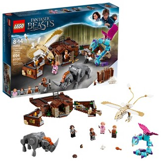 LEGO Harry Potter Fantastic Beasts Newts Case of Magical Creatures 75952