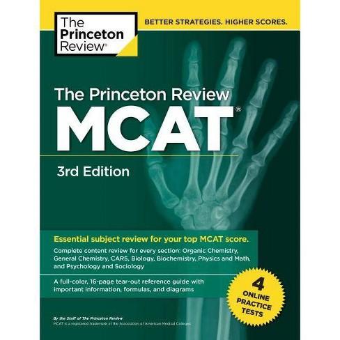 The Princeton Review McAt, 3rd Edition - (Graduate School Test  Preparation)(Paperback)