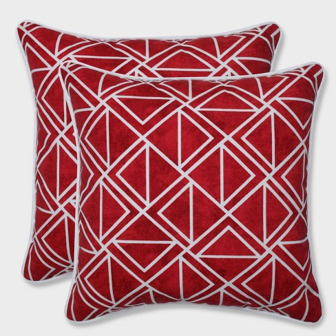 16 5 2pk Lanova Le Throw Pillows Red Pillow Perfect