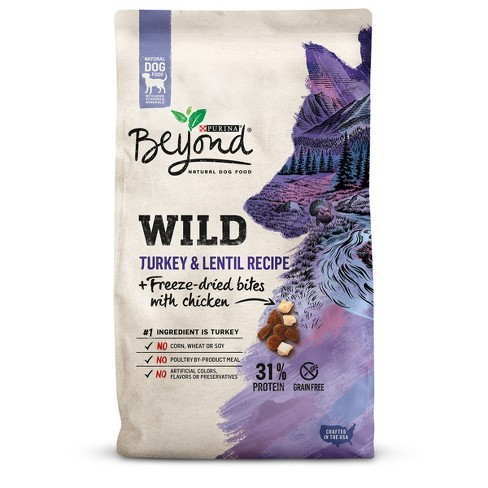 Purina Beyond Wild - Grain Free - Turkey & Lentil Recipe + Freeze-Dried Bites With Chicken - Dry Dog Food - 3lb - image 1 of 5