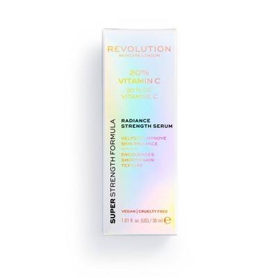Makeup Revolution Skincare 20% Vitamin C Serum - 1.01 fl oz