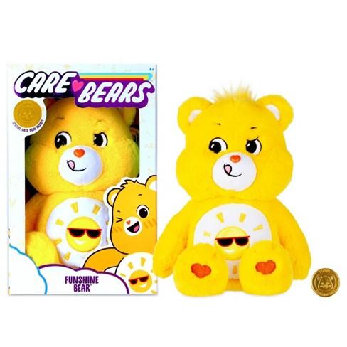 Message Recorder Stuffed Animals, Care Bears Basic Medium Plush Funshine Bear Target