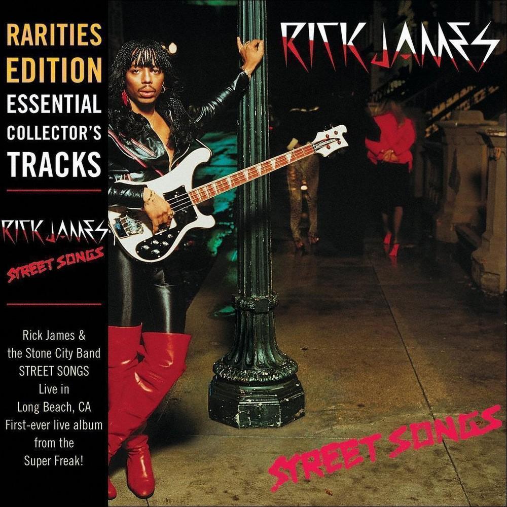 Rick James - Street Songs (Rarities Edition) (CD)