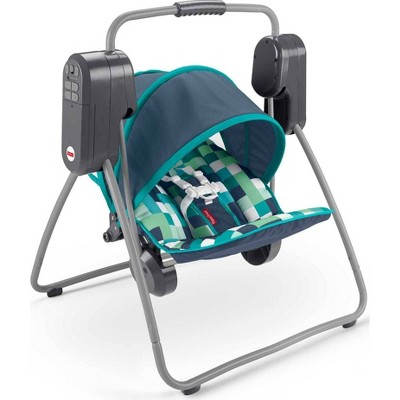 Fisher-Price On-the-Go Swing - Pixel Forest