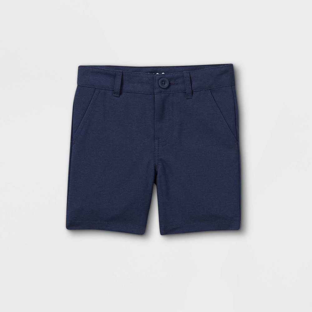 Toddler Boys 39 Woven Quick Dry Chino Shorts Cat 38 Jack 8482 Blue 18m