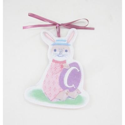 Pink Bunny Easter Basket Charm C - Spritz™