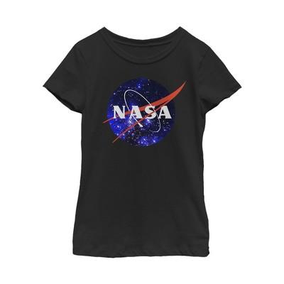 Girl's NASA Milky Way Logo T-Shirt