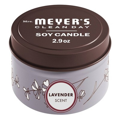 Mrs. Meyer's Lavender Tin Candle - 2.9oz