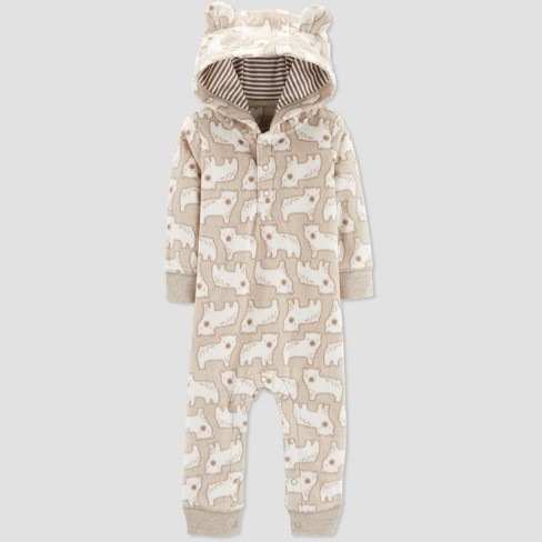 84711fed8e6 Baby Boys  1pc Bear Jumpsuit - Just One You® Made By Carter s ...