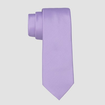 Men's Fairway Solid Crystal Tie - Goodfellow & Co™ Purple One Size