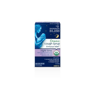 Mommy's Bliss Baby Nighttime Cough & Mucus Syrup - 1.67oz