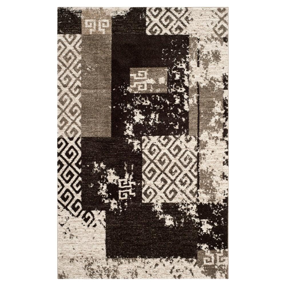 Chelsea Area Rug - Crème / Brown ( 5' X 8' ) - Safavieh, Beige