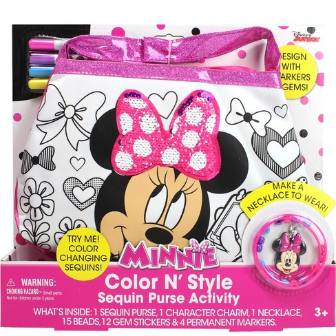 Minnie Mouse Color 'N Style Purse - image 1 of 3