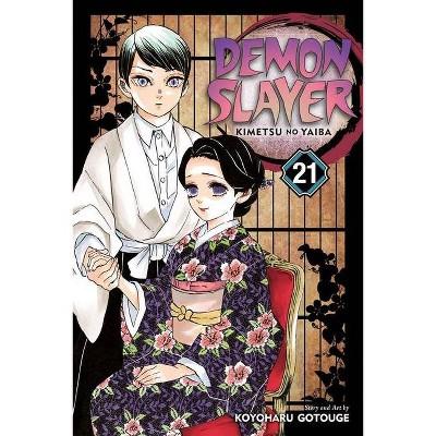 Demon Slayer: Kimetsu No Yaiba, Vol. 21, 21 - by Koyoharu Gotouge (Paperback)