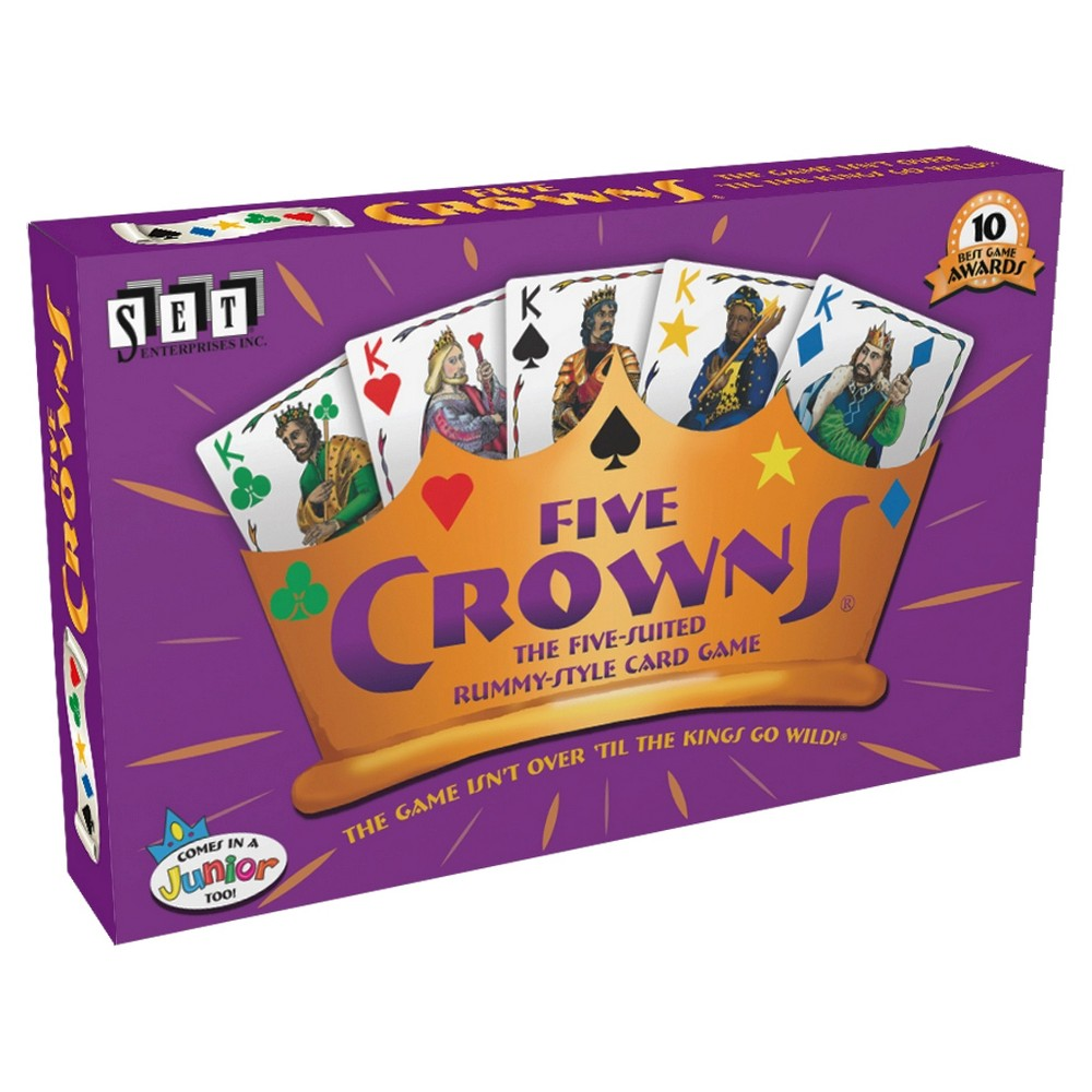 Five Crowns Card Game, Card Games