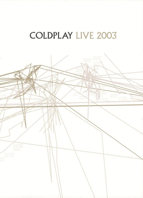 Coldplay live 2003 (DVD) - image 1 of 1