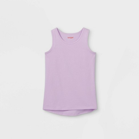Girls' Solid Tank Top - Cat & Jack™ - image 1 of 2