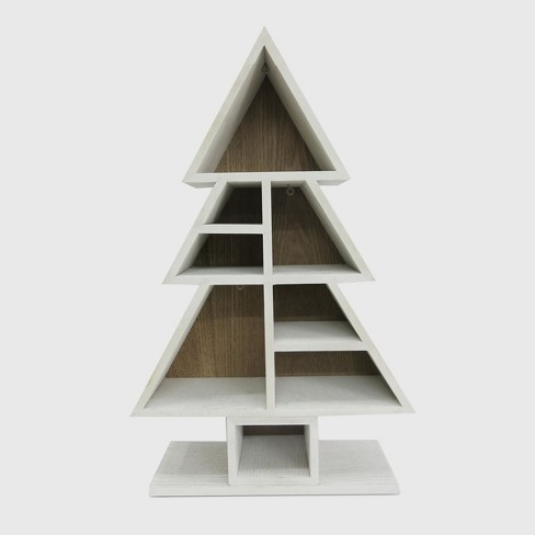 Wooden Shelf Display Tree Wondershop