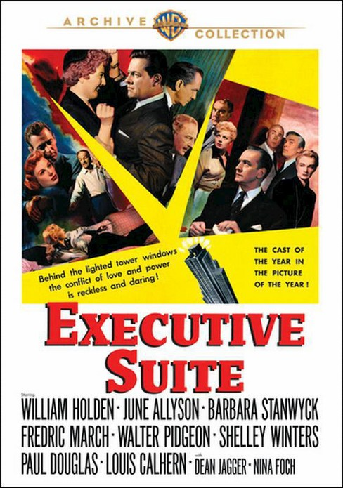 Executive suite (DVD) - image 1 of 1