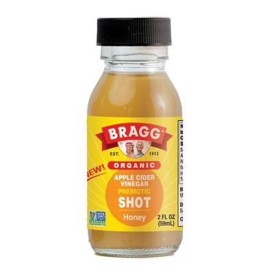 Bragg Organic Honey Apple Cider Vinegar Probiotic Shot - 2 fl oz
