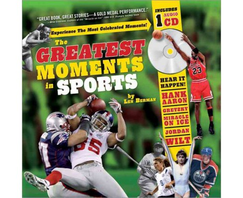 Greatest Moments in Sports (Hardcover) (Len Berman) - image 1 of 1