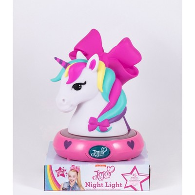 JoJo Siwa Unicorn LED Nightlight Pink