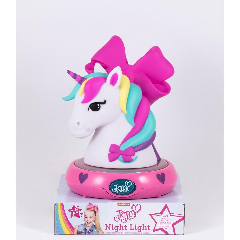 Image of JoJo Siwa Unicorn Nightlight Pink