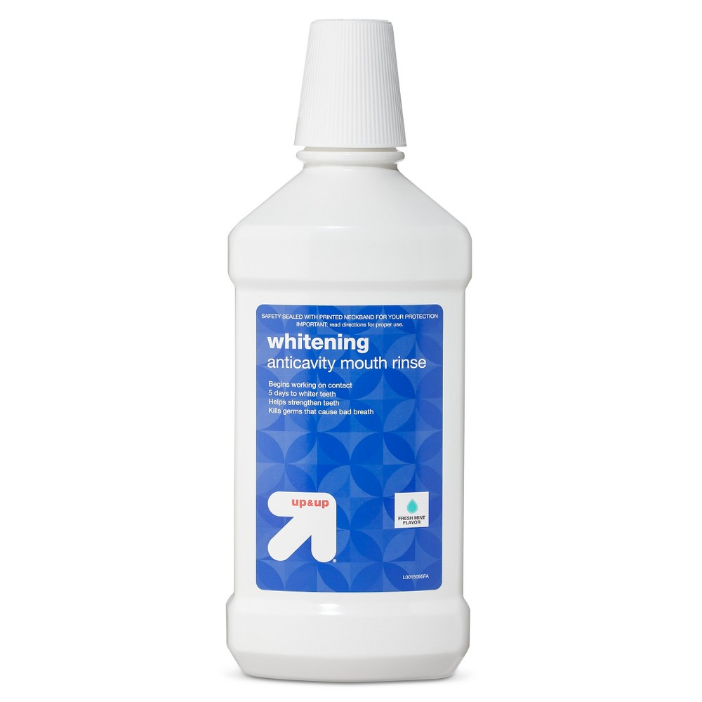 Whitening Anti Cavity Mint Flavor Mouth Rinse 32oz Up 38 Up 8482