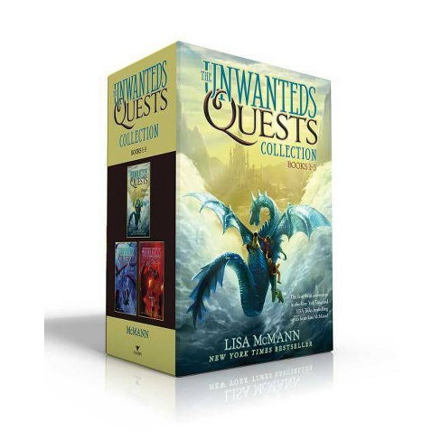 The Unwanteds Quests Collection Books 1-3 - by  Lisa McMann (Paperback) - image 1 of 1