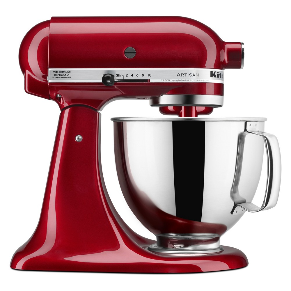 KitchenAid Refurbished 5qt Artisan Stand Mixer Grenadine – RRK150GD 53960943