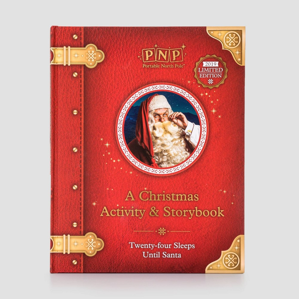 Image of A Christmas Activity and Story Book 2019 Limited Edition - Portable North Pole